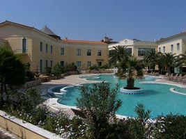 Thermae Sylla Spa & Wellness Hotel in Aidipsos, Greece
