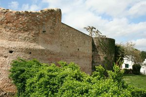 Fortification Wall in Dax, France
